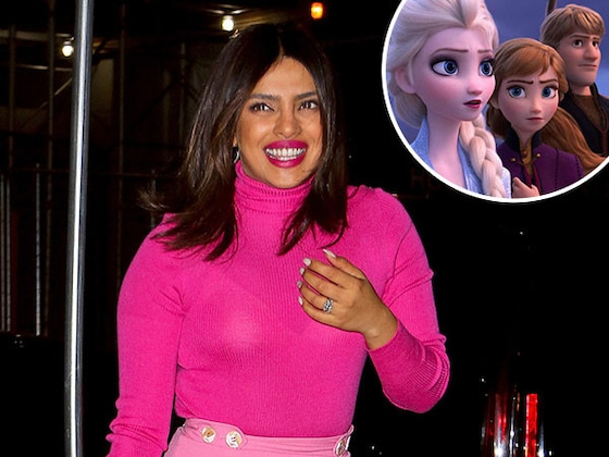 Priyanka Chopra Just Nabbed a Major Role in <i>Frozen 2</i>—But There's a Catch