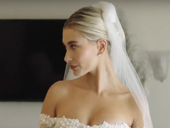 Watching Hailey Bieber's Final Wedding Dress Fitting Will Give You Fashion Envy