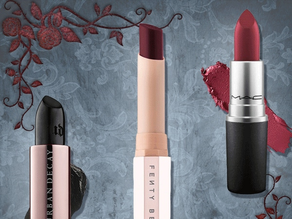 7 Dark Vampy Lipsticks to Bring Out Your Sinister Side