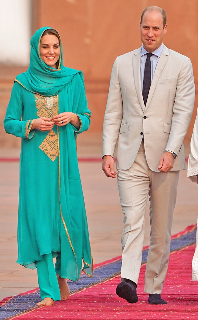 Kate Middleton, Pakistan