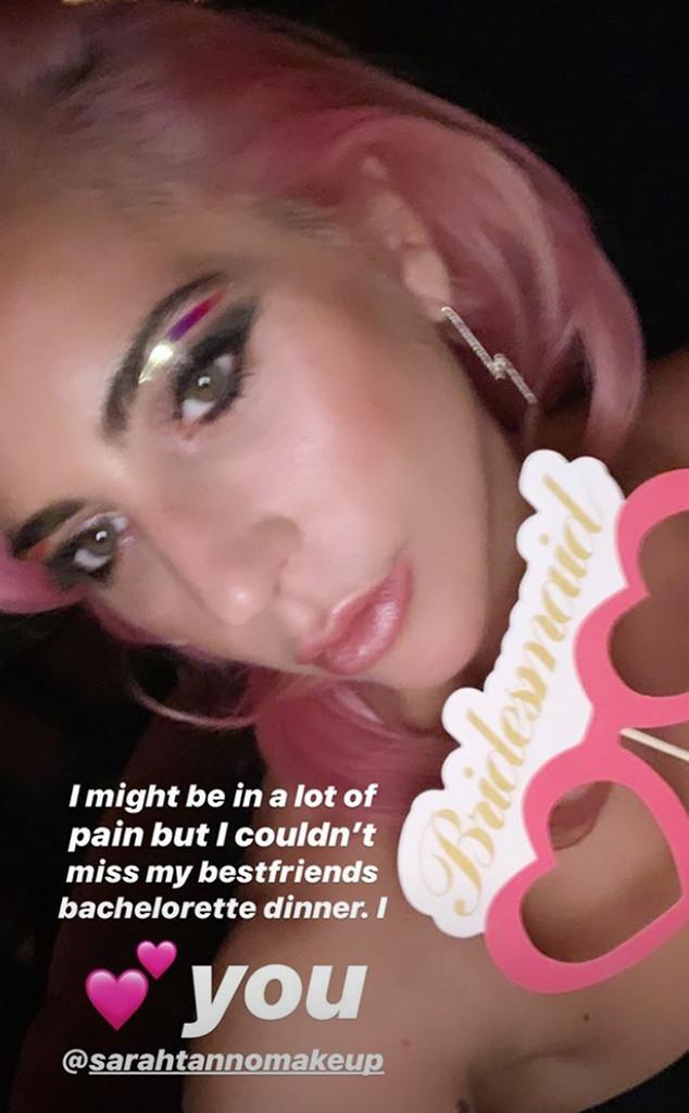 Lady Gaga, Sarah Nicole Tanno, Instagram