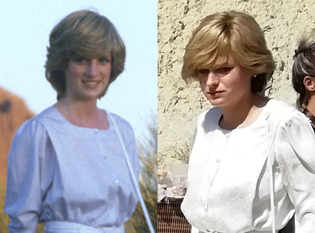 get your first look at the crown s princess diana e online princess diana