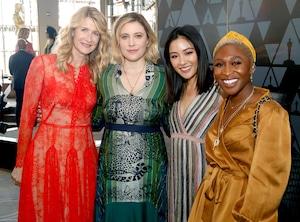 Laura Dern, Greta Gerwig, Constance Wu, Cynthia Erivo, 2019 Women's Initiative New York luncheon