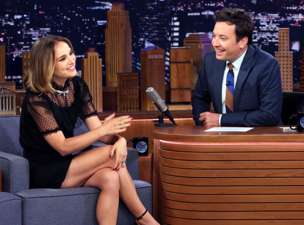 Natalie Portman, Jimmy Fallon
