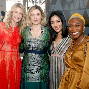 Laura Dern, Greta Gerwig, Constance Wu, Cynthia Erivo, 2019 Women's Initiative New York luncheon