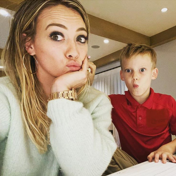 """Hilary Duff Struggles to Help Son With Homework as She Stopped """"Real"""" School in 3rd Grade"""