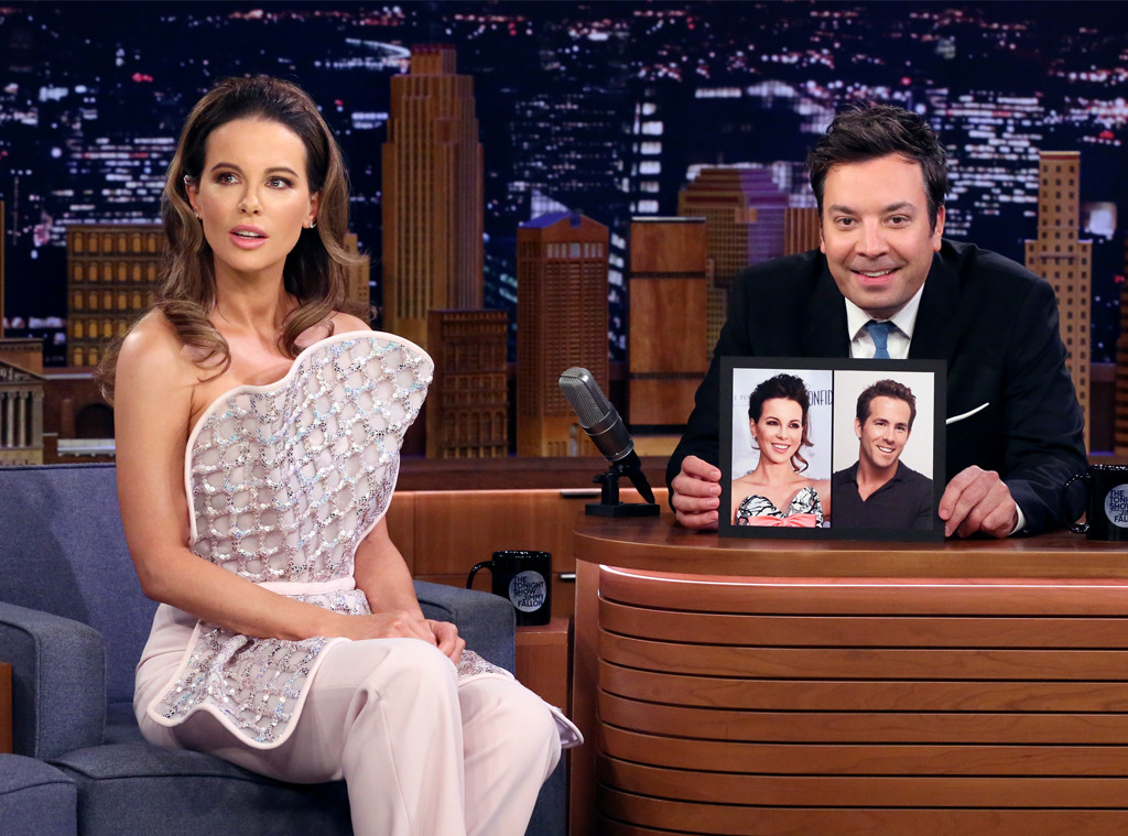 Kate Beckinsale, The Tonight Show starring Jimmy Fallon, Ryan Renyolds