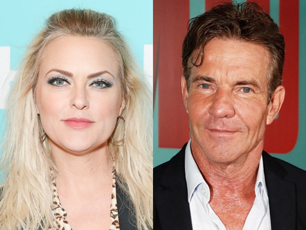 <i>The Parent Trap</i>'s Elaine Hendrix's Reaction to Dennis Quaid's Engagement Is Straight out of a Movie