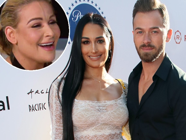 Nattie Neidhart Weighs in on Nikki Bella & Artem Chigvintsev's Relationship