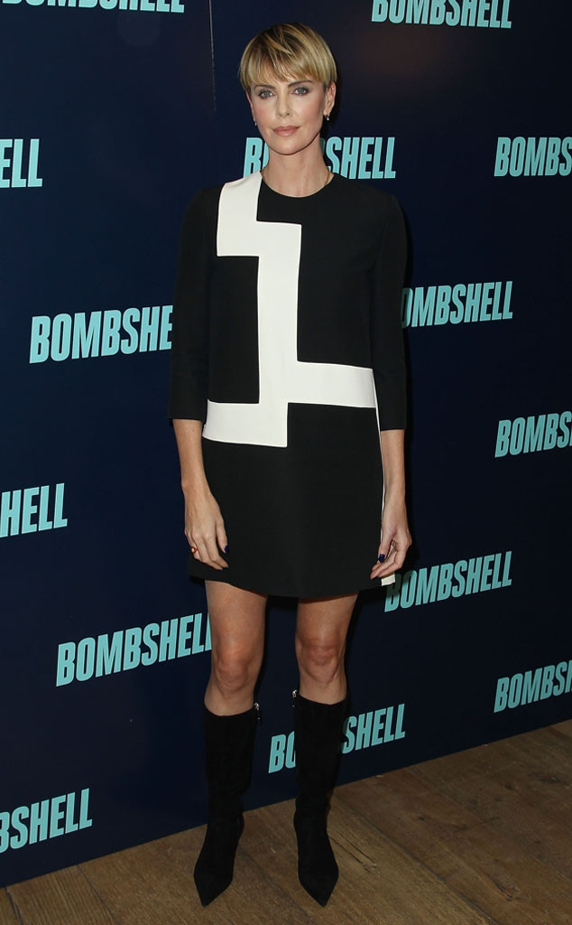 Charlize Theron, Fashion Police Widget