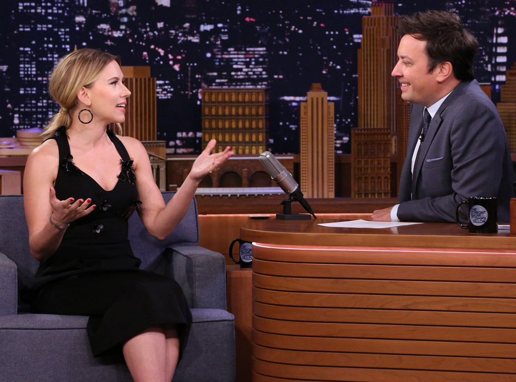 Scarlett Johansson, The Tonight Show Starring Jimmy Fallon 2019