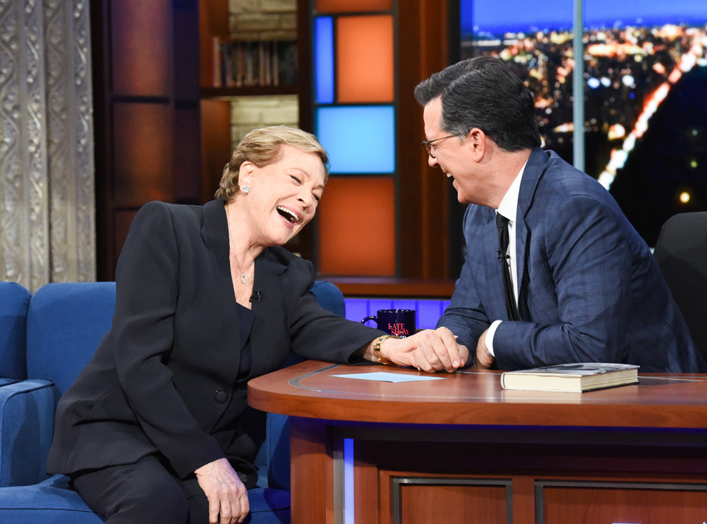 Julie Andrews, The Late Show with Stephen Colbert 2019