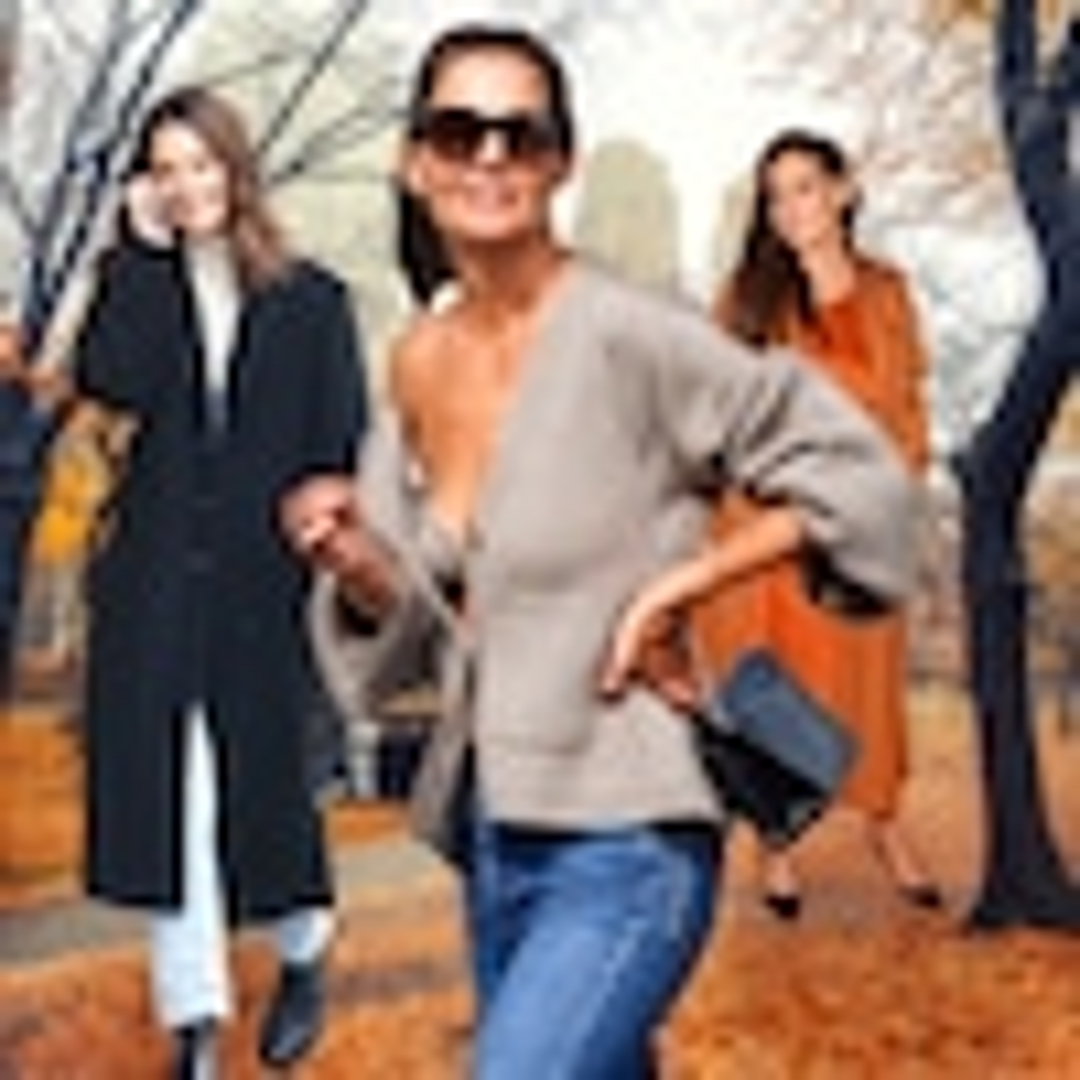 Katie Homes, Fall Fashion Icon