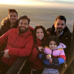 Eugenio Derbez, Vadhir Derbez, Jose Eduardo Derbez, Alessandra Rosaldo