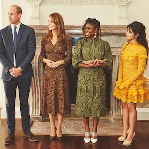 Kate Middleton, Prince William, Camila Cabello