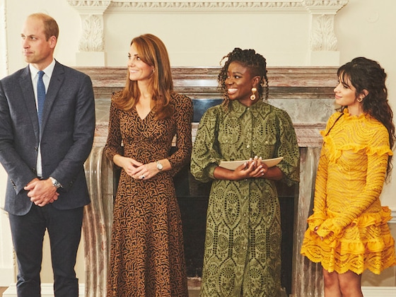 Camila Cabello Met With Kate Middleton and Prince William to Support a Good Cause