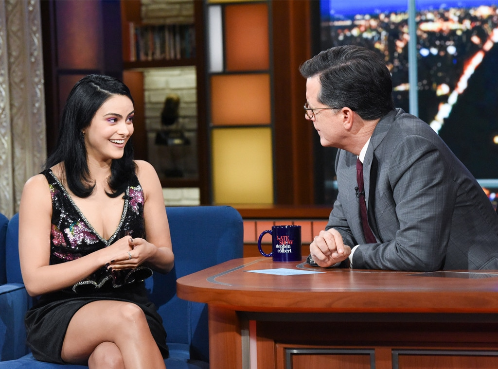 Camila Mendes, The Late Show, Stephen Colbert, Riverdale