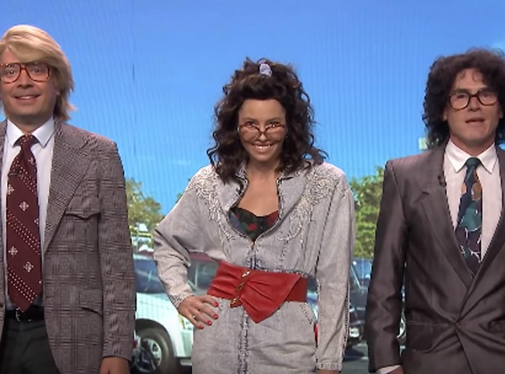 Jimmy Fallon, Jessica Biel, Billy Crudup, The Tonight Show