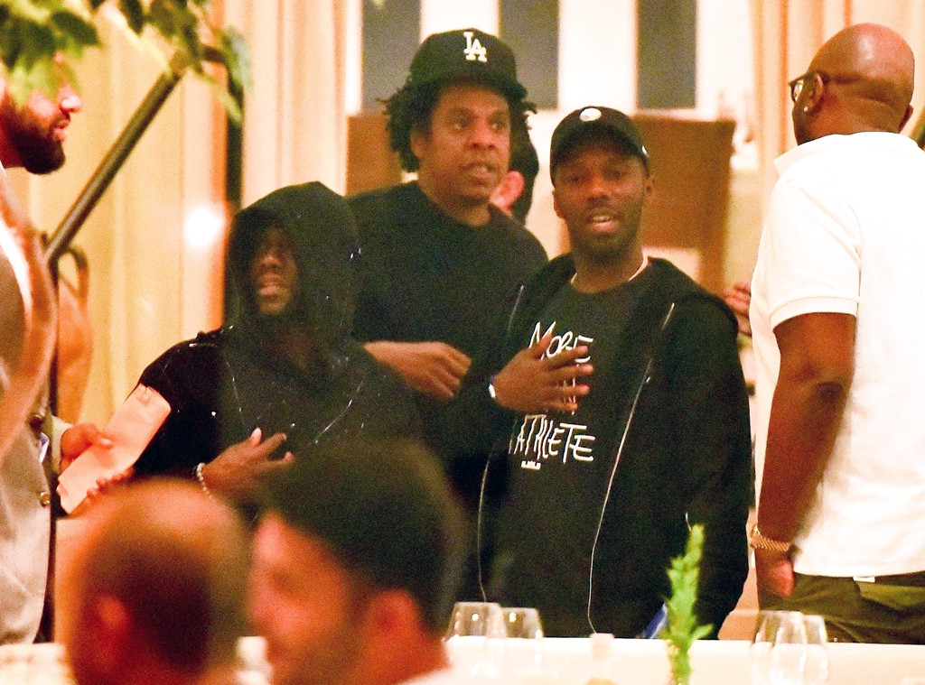 Kevin Hart, Jay-Z, Rich Paul