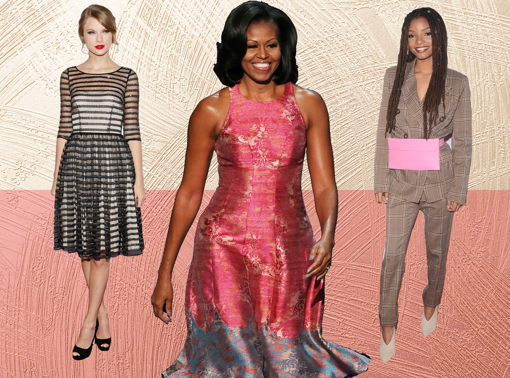 E-Comm: Tracy Reese Fashion, Taylor Swift, Michelle Obama, Halle Bailey
