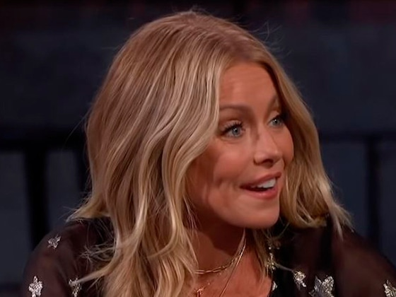 Kelly Ripa's House Alarm Totally Busted Her Daughter's Rooftop Party