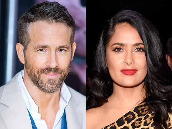 Salma Hayek Just Trolled Ryan Reynolds So Hard on His Birthday