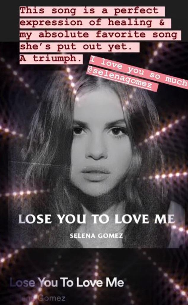 Taylor Swift, Selena Gomez, Instagram 2019