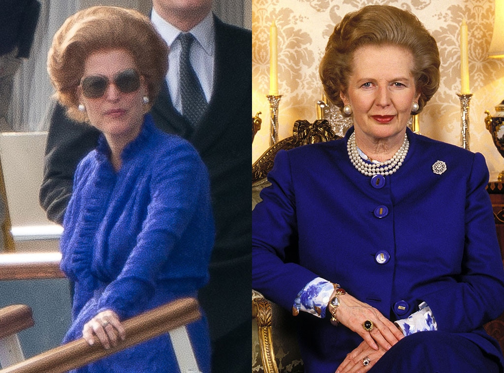 Gillian Anderson, Margaret Thatcher