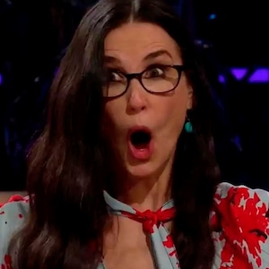 Demi Moore, The Late Late Show with James Corden 2019