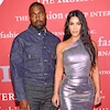 Kanye West, Kim Kardashian, FGI Night Of Stars Gala