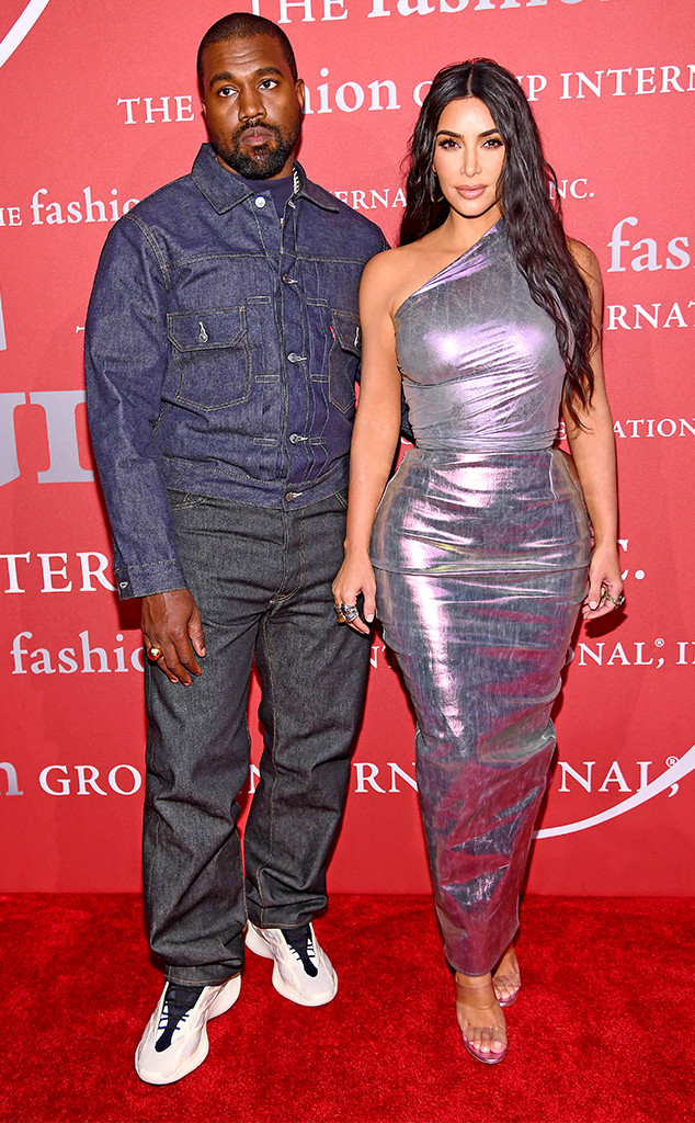 Kanye West, Kim Kardashian, FGI Night Of Stars Gala