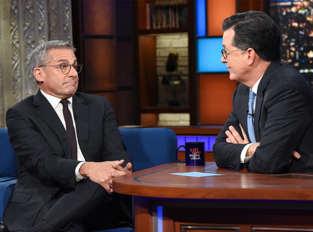 Steve Carell, The Late Show 2019