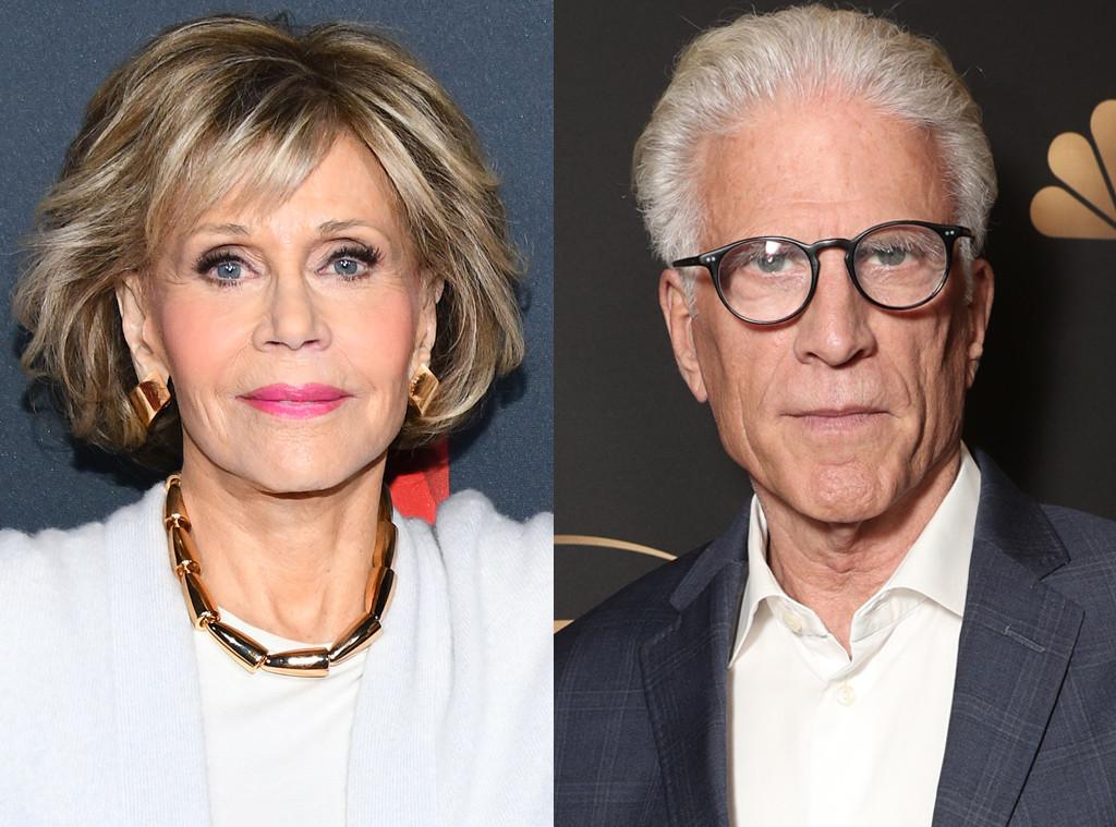 Jane Fonda, Ted Danson