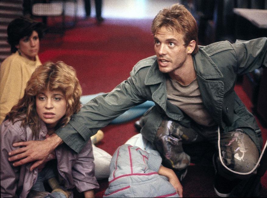 The Terminator, Linda Hamilton, Michael Biehn