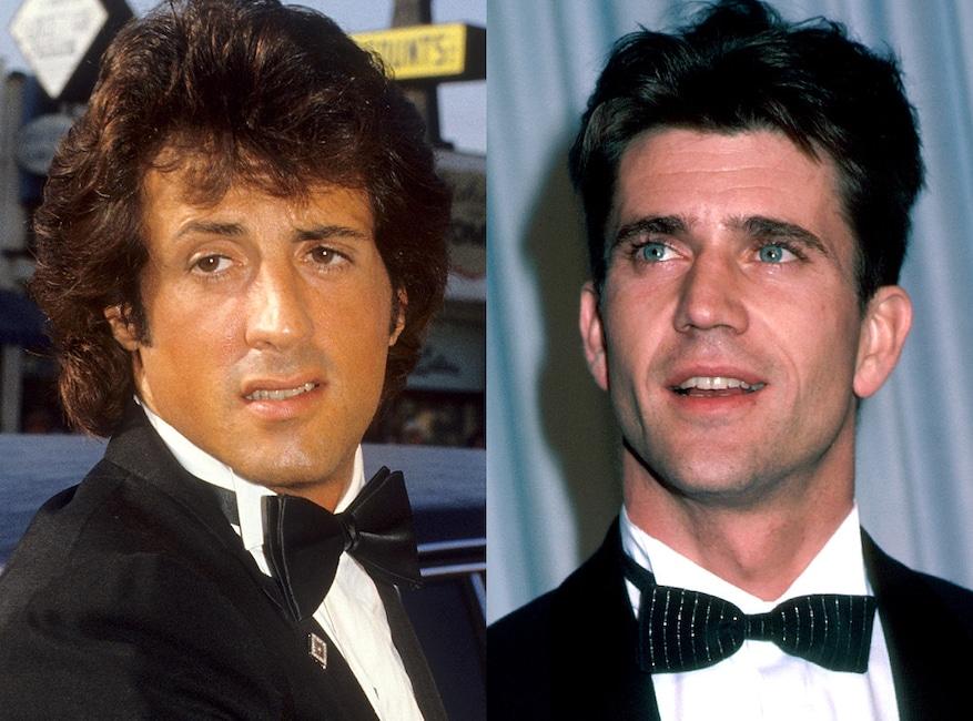 The Terminator, Sylvester Stallone, Mel Gibson