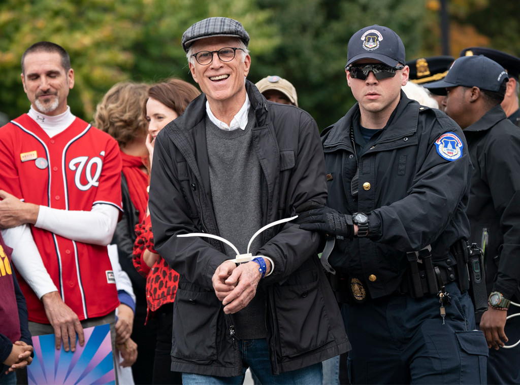 Ted Danson, Arrested