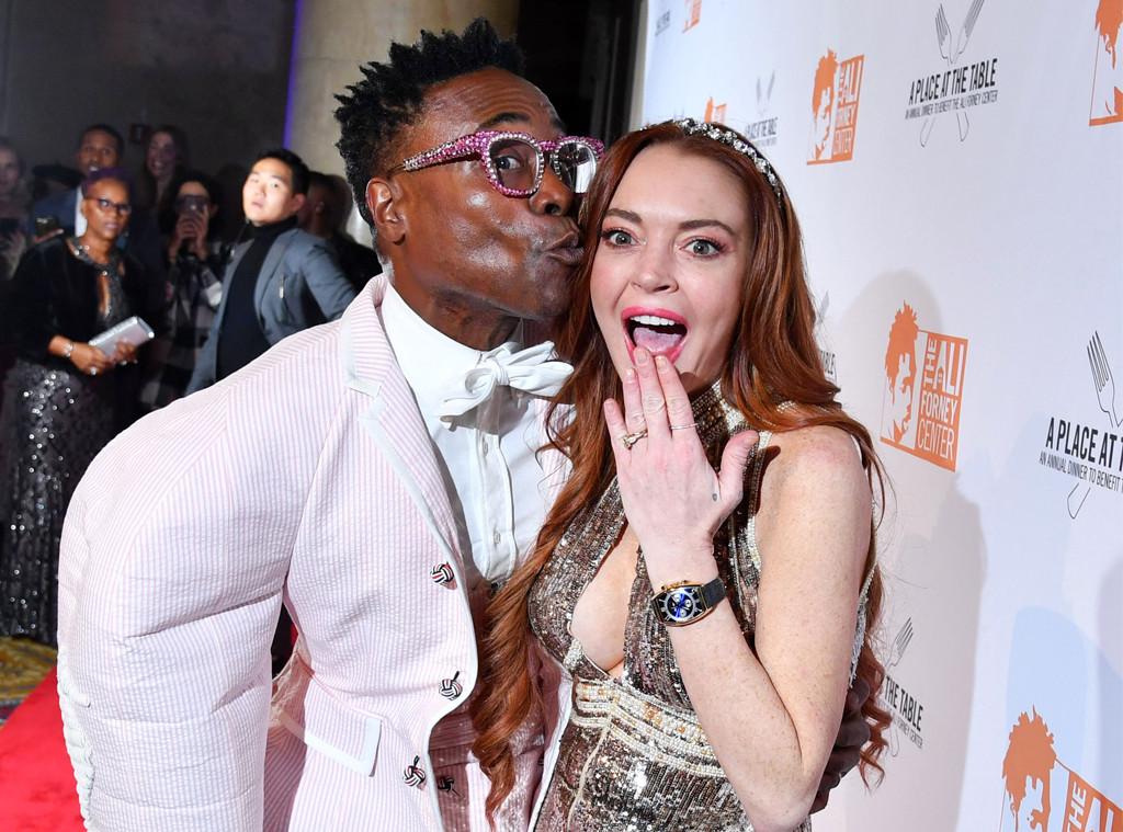 Lindsay Lohan, Billy Porter