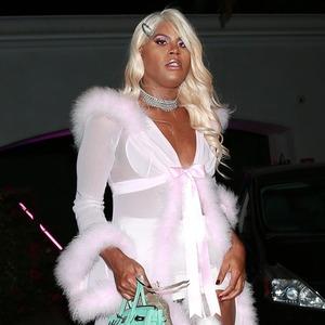 EJ Johnson, Paris Hilton Halloween Party