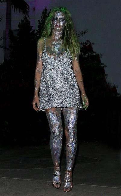 Heidi Klum, Halloween, Fireworks Costume