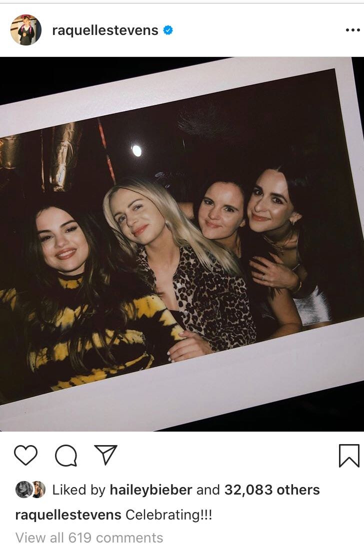 Selena Gomez, Hailey Bieber, Instagram