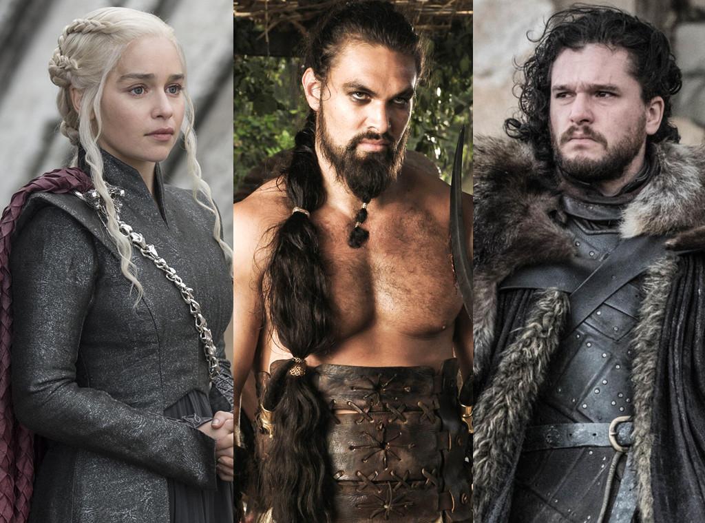 Game of Thrones, Emilia Clarke, Kit Harington, Emilia Clarke