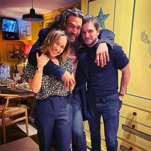 Emilia Clarke, Jason Momoa, Kit Harington, Game of Thrones, Reunion, Instagram