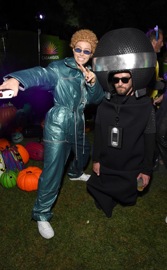 2019 Casamigos Halloween Party, Justin Timberlake, Jessica Biel