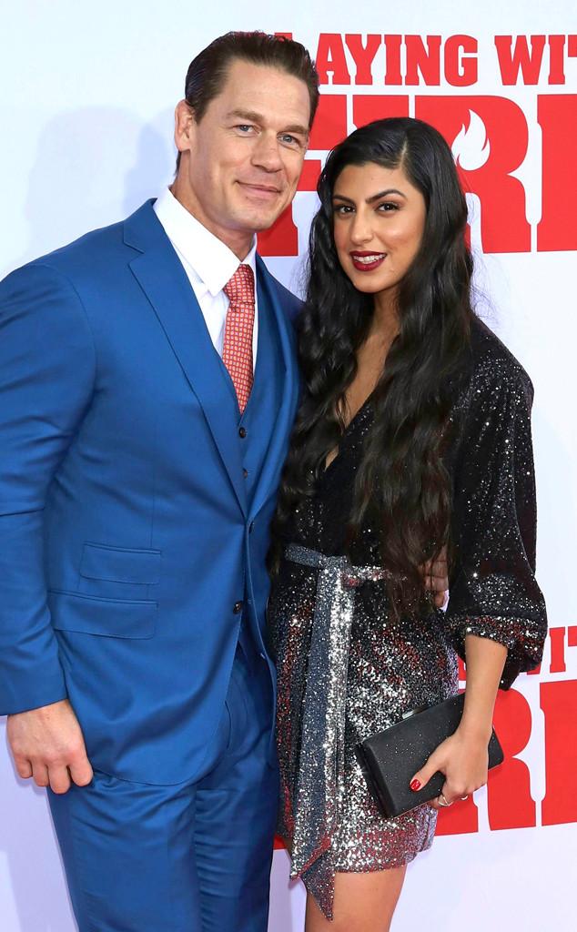 John Cena And Girlfriend Shay Shariatzadeh Make Their Red