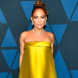 Jennifer Lopez, Fashion Police Widget, 2019 Governors Awards