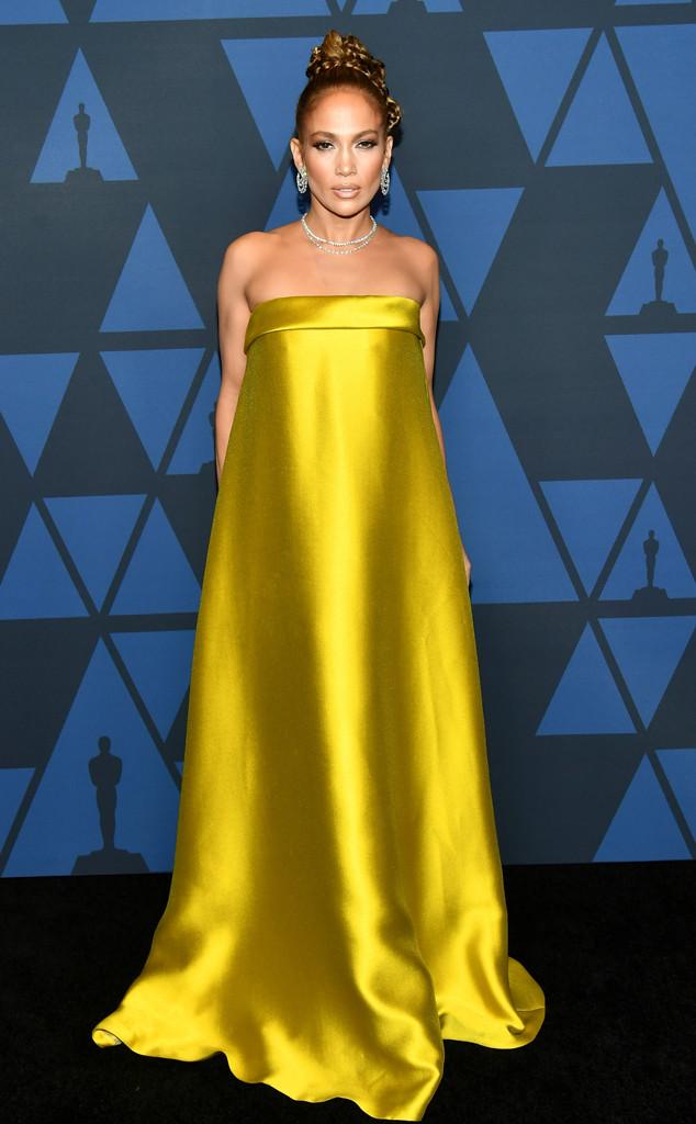 Jennifer Lopez, Fashion Police Widget, 2019 Governors Awards