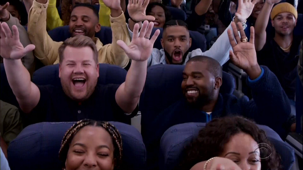 Kanye West, Carpool Karaoke, James Corden