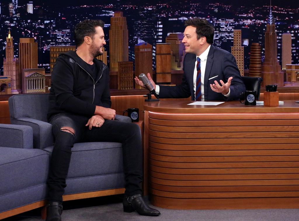 Luke Bryan, Jimmy Fallon, The Tonight Show
