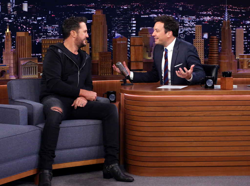 Luke Bryan, Jimmy Fallon, The Tonight Show