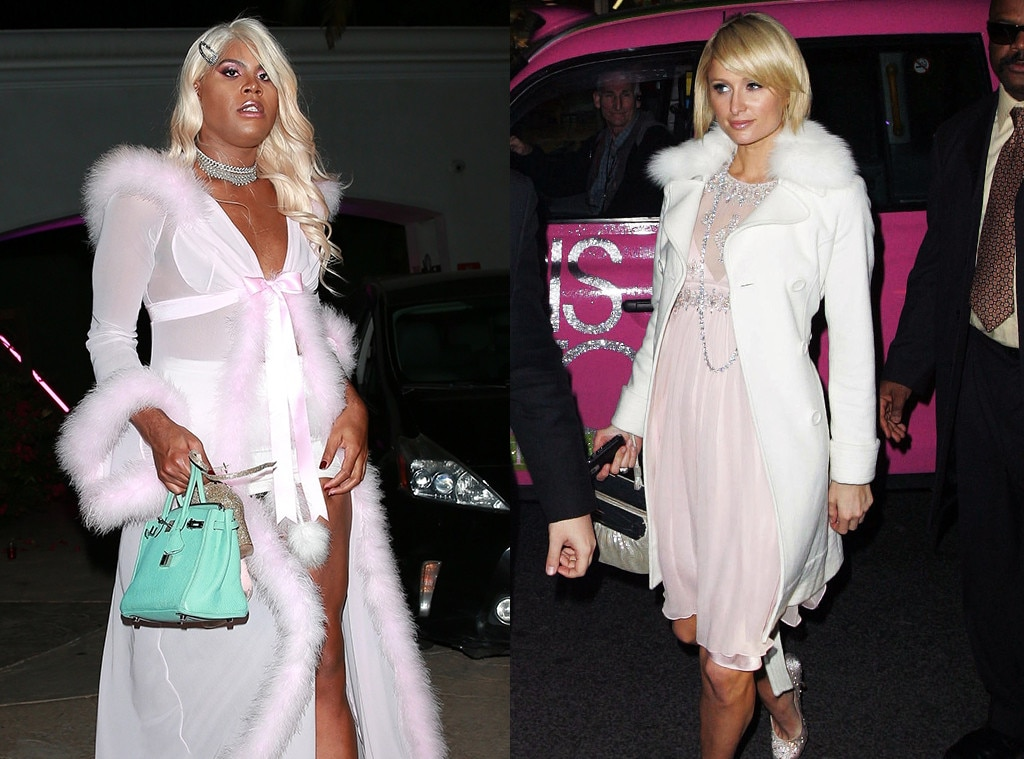 EJ Johnson, Paris Hilton